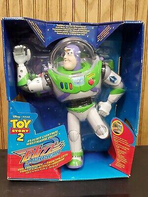 """12"""" Toy Story 2 Buzz Lightyear """"Flight Control"""" New 1999"""