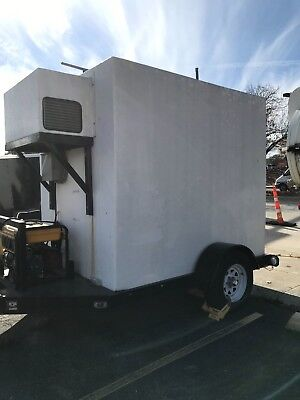 Freezer Trailer - Used -interior Area - 38 Sq. Ft. - 10000 Obo