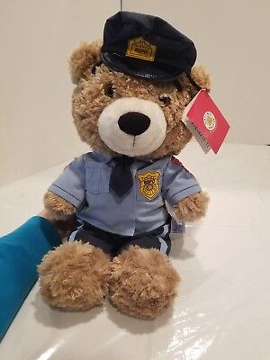 Build-A-Bear Workshop Police Department Uniform Cool School Bearemy 17