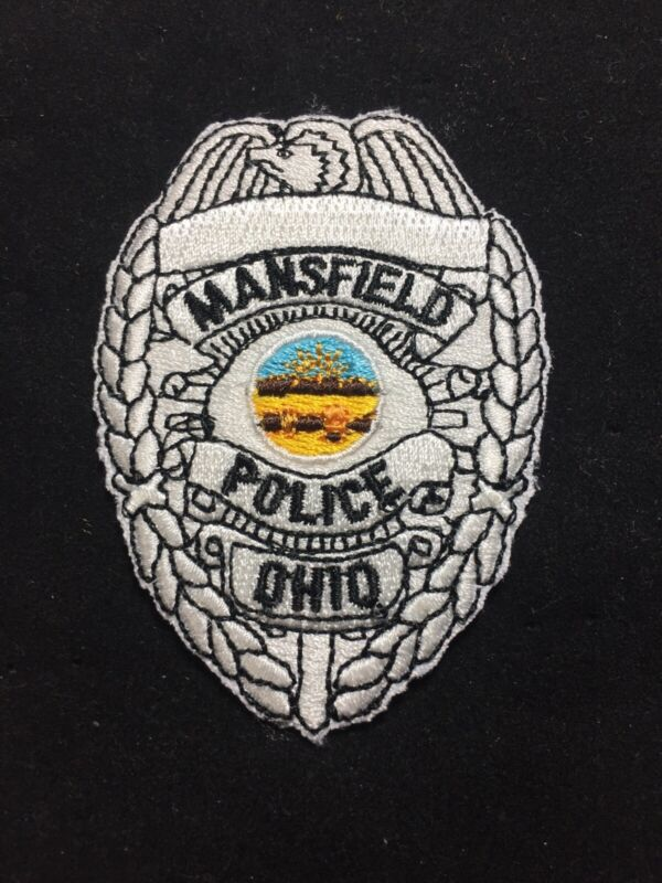 Mansfield Ohio Police Department Patch OH