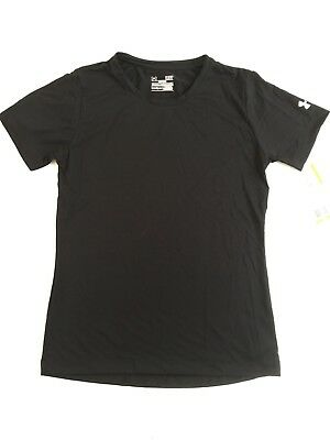 BNWT LADIES UNDER ARMOUR HEAT GEAR TECH SEMI FITTED SPORTS TOP TEE SHIRT SIZE S