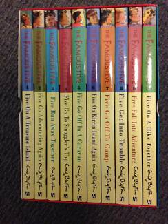 Box set The Famous Five children books Sorell Sorell Area Preview
