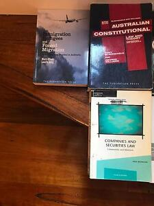 Sydney Uni law text books Rushcutters Bay Inner Sydney Preview