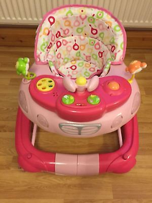Immaculate Condition, My Child Walk n' Rock Baby Walker, Pink