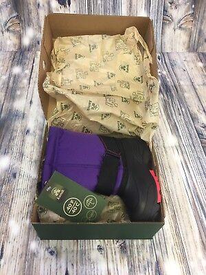 Kamik Toddler Girls Rocket Purple Snow Boots Sz US 10 /EUR 26 NIB Rated -40F