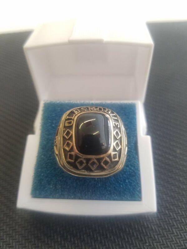 oldsmobile Black onyx 10k ring