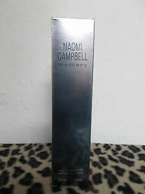 Naomi Campbell Mystery By  Naomi Campbell 2 5 Oz   75 Ml Edt Spray For Women