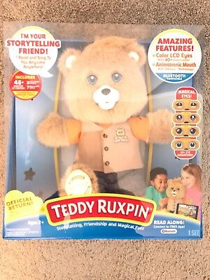 TOY: TEDDY RUXPIN: The Talking Teddy Bear 🐻 Doll.