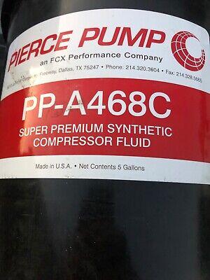 A468c Air Compressor Fluid Oil  5 Gallon