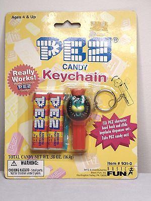 Lion Keychain Pez Dispenser On Card-1999