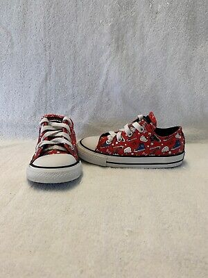 Converse All Star Chuck Taylor Toddler Girls Sanrio Hello Kitty Shoes~size 8 C