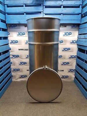 210 gallon 304 NEW stainless steel Open Head Barrel Crevice Free (1.5mm)