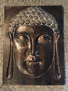 Buddha Face Art Decor St Leonards Willoughby Area Preview