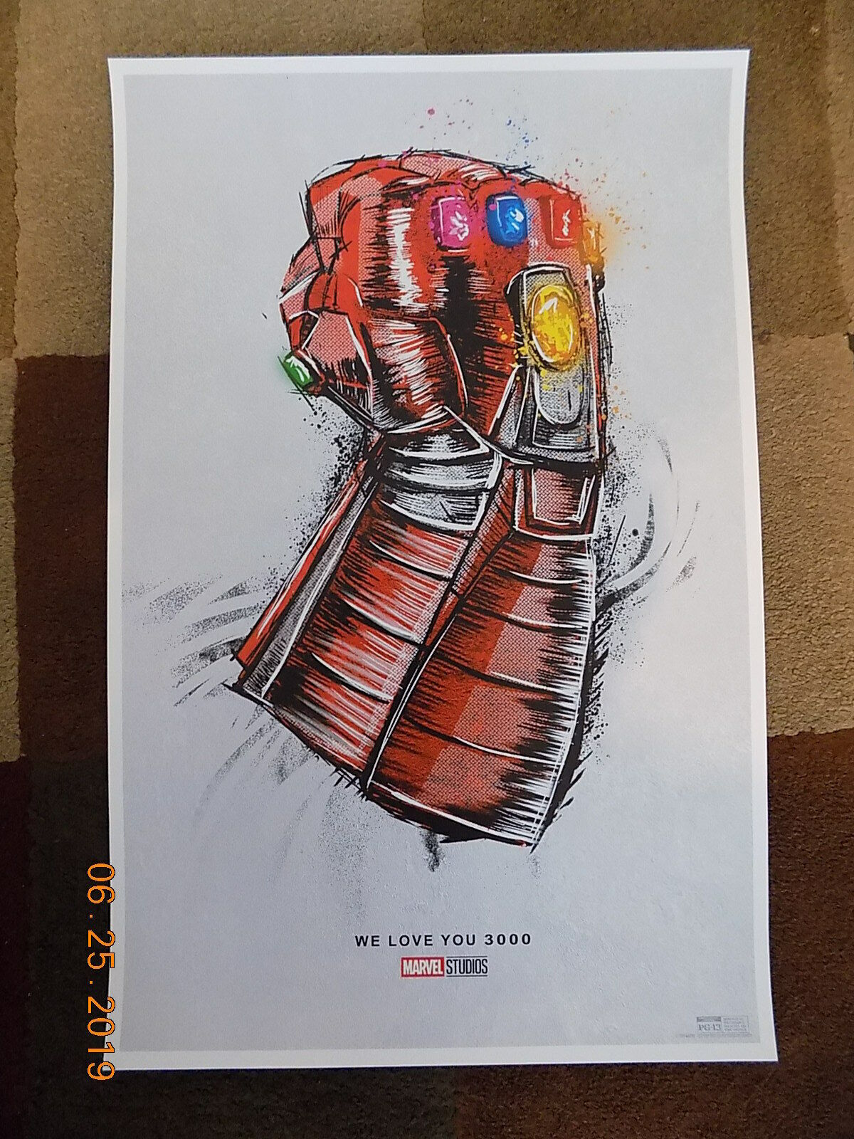 "Avengers: End Game ( 11"" x 17"" ) Movie Collector's Re-Release Poster Print"