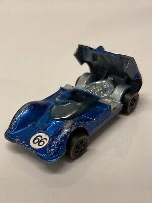 Hot Wheels Redline Chaparral 2G 1968 Blue Made in Hong Kong