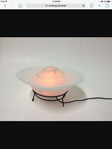 Small tabletop misting fountain
