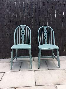 Painted Antique Sturdy Wooden Chairs Canada Bay Canada Bay Area Preview