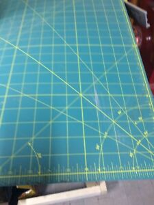 Olfa cutting mats 2 mats 36x36 and one 18x18 used in art