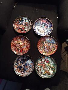 Franklin mint Pepsi collectable plates by Bill Bell