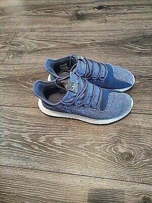 Adidas Tubular Trainers Blue Size 9