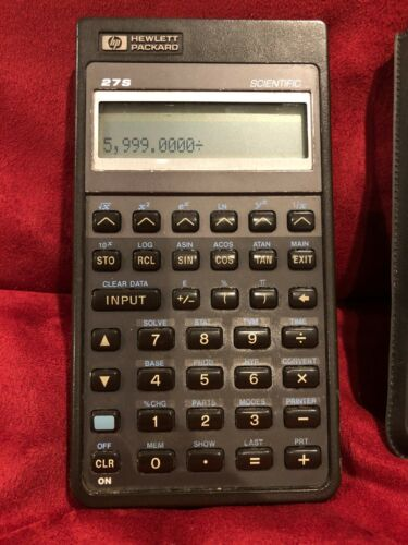 HP 27s Scientific Calculator