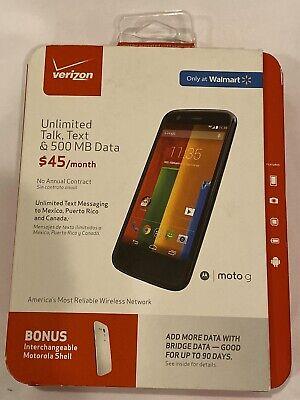 Motorola MOTO G Verizon Android No Contract Smartphone XT1028 Open Box