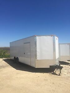 2017 Enclosed 24' Cargo Trailer