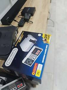 MINI NES+CONTROLLER EXTENSION+AC ADAPTOR NINTENDO CLASSIC Reservoir Darebin Area Preview