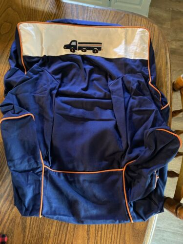 Pottery Barn Kids Twill My First Toddler Anywhere Chair Cover NEW NAVY BLUE