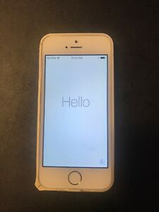 iPhone 5s 16G Gold  220 dollar