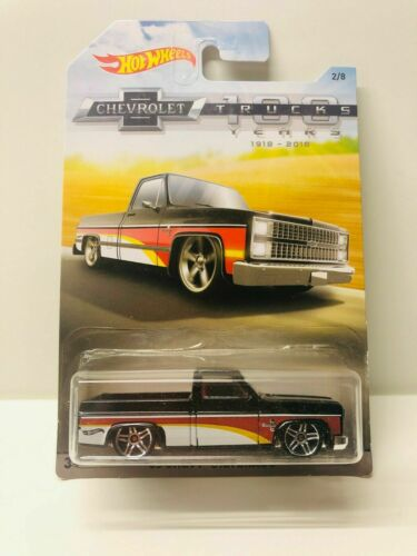 Hot Wheels 100 Years of Chevrolet Trucks 83 Chevy Silverado Walmart Exclusive