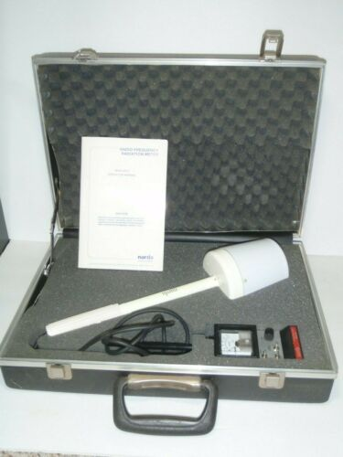 Narda probe model 8512 radio frequency radiation meter