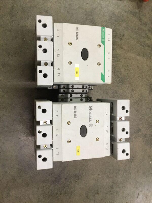 2 MOELLER/EATON. DIL M185A (RAC240) Contactors