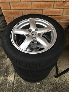 Honda Accord Euro Wheels & Tyres Genuine East Hills Bankstown Area Preview