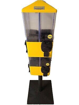 U Turn Eight 8 Head Terminator Vending Machine Candy Gumball Toys Select