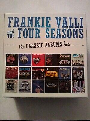 The Four Seasons, Frankie Valli & Four Seasons - Classic Albums Box CD (Frankie Valli & The Four Seasons Albums)