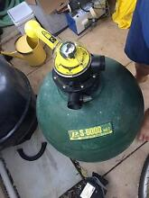 Pool Pump, Salt Water Chlorinator and Sand Filter w/ Valve Wooloowin Brisbane North East Preview