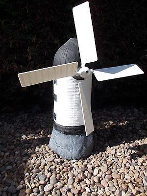 Windmill concrete garden ornament