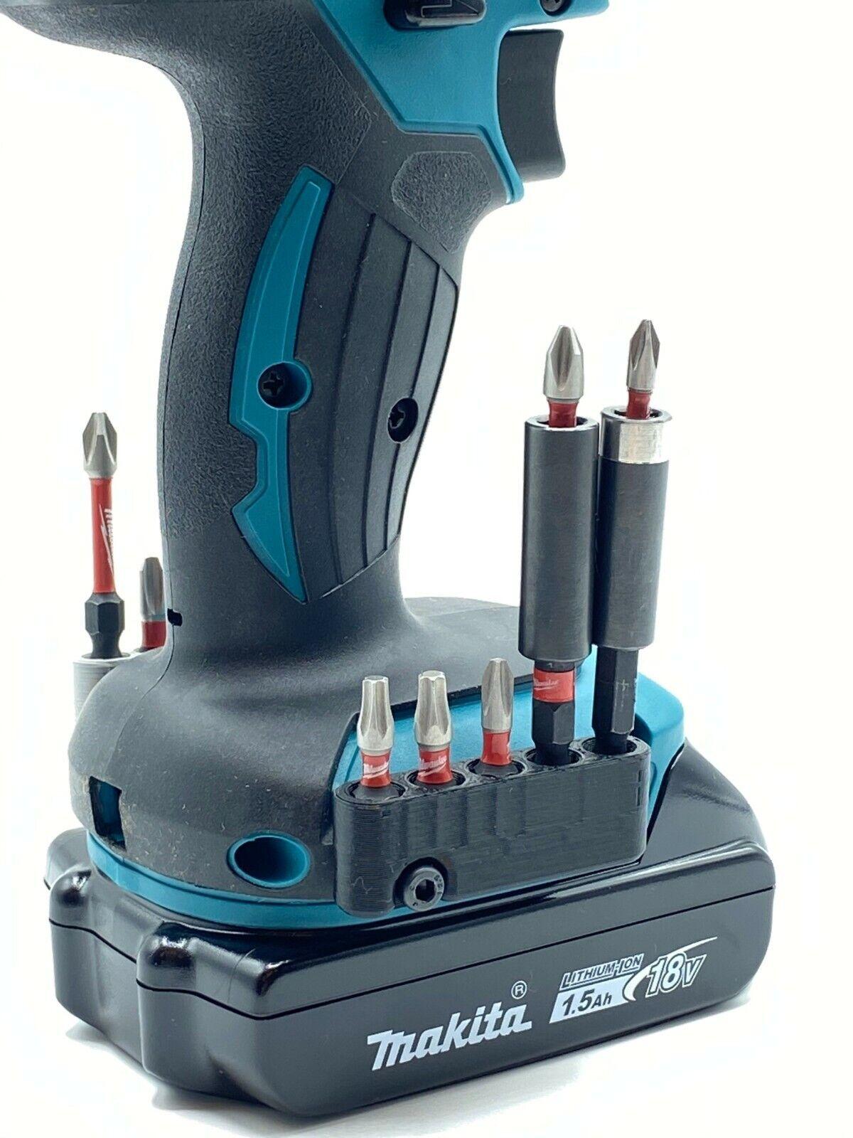 Magnetic Bit Holder 🧲 for MAKITA 18V 12V Tools (w/ Screw)