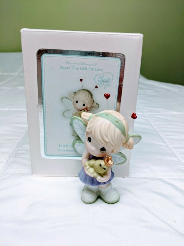 Precious Moments Figurine - It All Starts With Love #104015: Pre-Owned