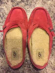 Authentic UGG Slip-ons- size 6