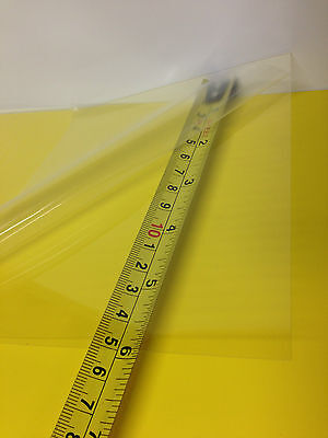 Clear Petpc Blend Thermoforming Plastic Sheet 0.010 X 12 X 24 Bpa Free