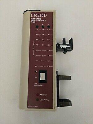 Bard Harvard Mini Infuser 300 Infusion Pump
