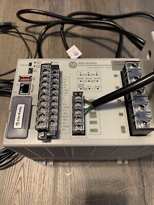 Allen Bradley Power Monitor 5000 Basic Module 1426-m5e Ser B Works Well