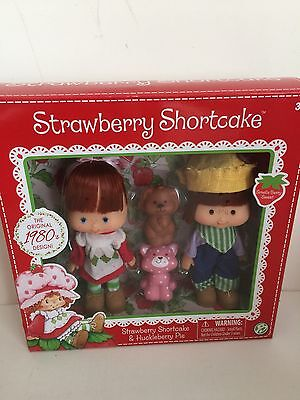 NEW! Strawberry Shortcake 1980s Classic Collection with Huckleberry Pie and pets
