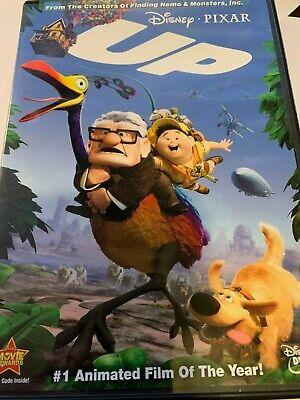 Disney PIXAR UP  (DVD) no/slip includes inserts! A Great Gift ! Heartwarming !