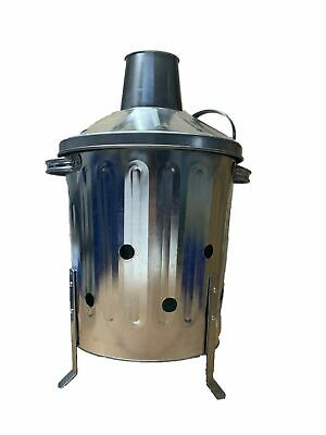MINI INCINERATOR 15L - Ideal for burning paper, cardboard, wood and leaves
