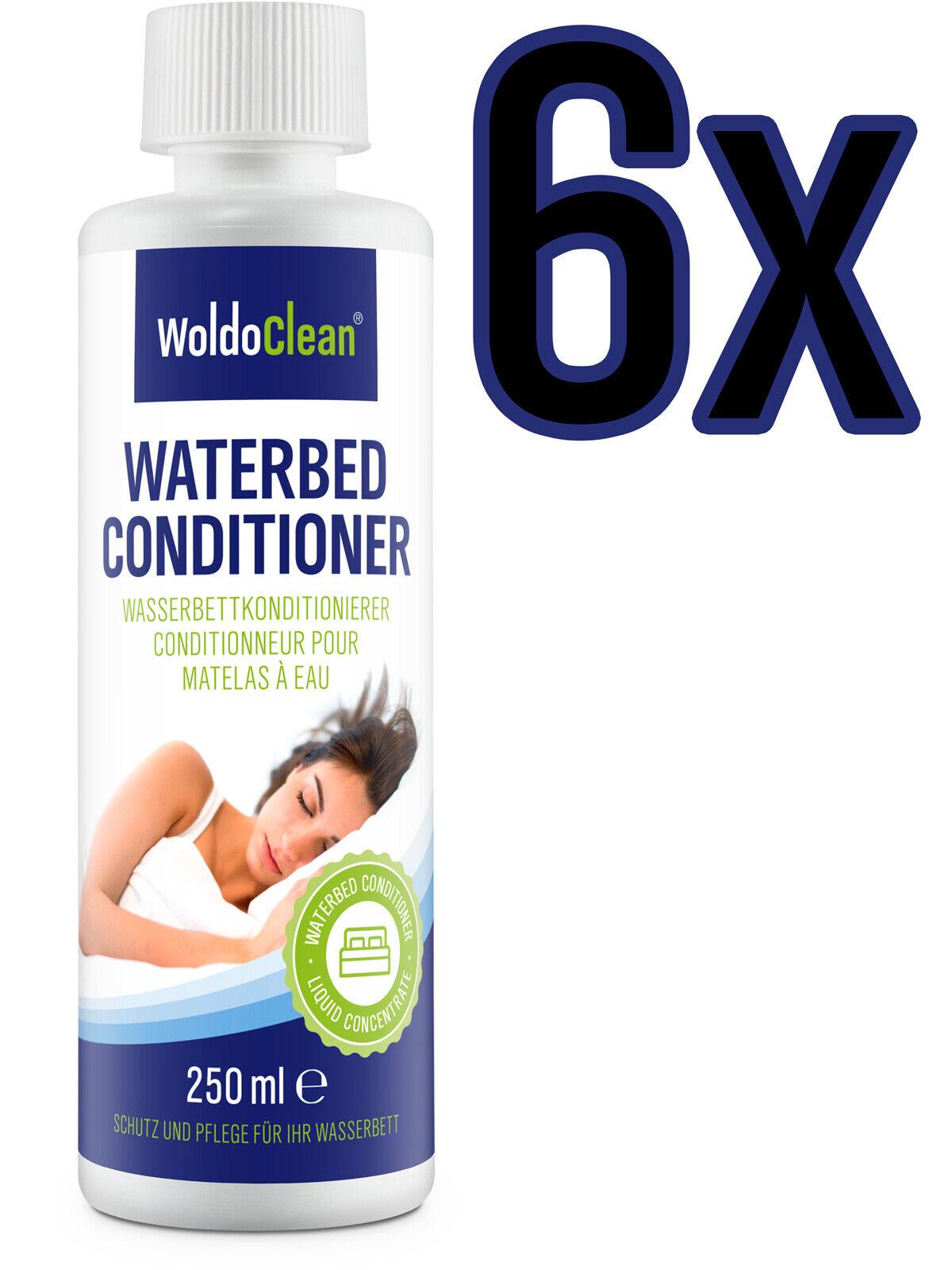 6x 250ml Wasserbetten Conditionierer Wasserbett Conditioner Konditionierer