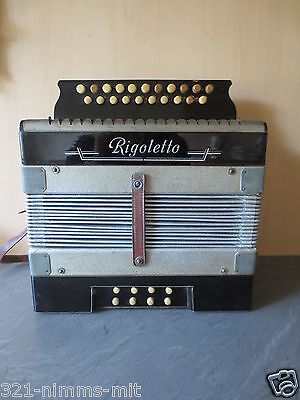 +++Antikes Rigoletto Akkordeon - Ziehharmonika - Handharmonika+++ca. 1930