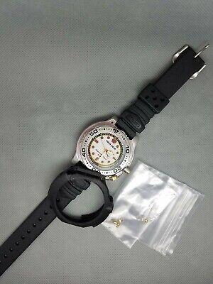 Rare SEIKO Vintage NON Digital Watch AQUA GEAR ALBA 200 DIVER SCUBA V671-6060